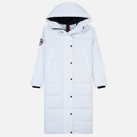 Женский пуховик Arctic Explorer Quilted Down White