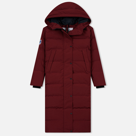 Женский пуховик Arctic Explorer Quilted Down Wine