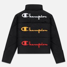 Женский пуховик Champion Reverse Weave Back Script Puff Black фото- 7