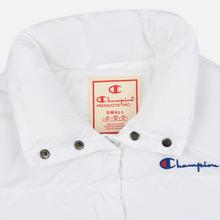 Женский пуховик Champion Reverse Weave Back Script Puff White фото- 1
