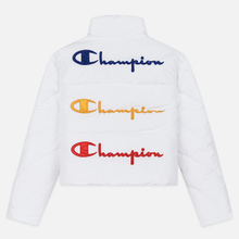 Женский пуховик Champion Reverse Weave Back Script Puff White фото- 7