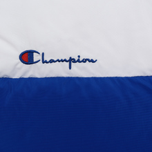 Женский пуховик Champion Reverse Weave Color Block Puff Blue/Red/White фото- 4