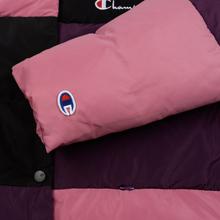 Женский пуховик Champion Reverse Weave Color Block Puff Violet/Pink/Black фото- 5
