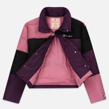 Женский пуховик Champion Reverse Weave Color Block Puff Violet/Pink/Black фото- 2