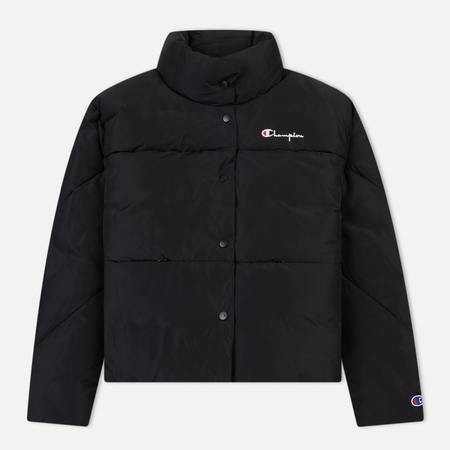 Женский пуховик Champion Reverse Weave Down Black