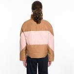 Женский пуховик Champion Reverse Weave Down Camel/Pink фото- 7
