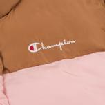 Женский пуховик Champion Reverse Weave Down Camel/Pink фото- 2