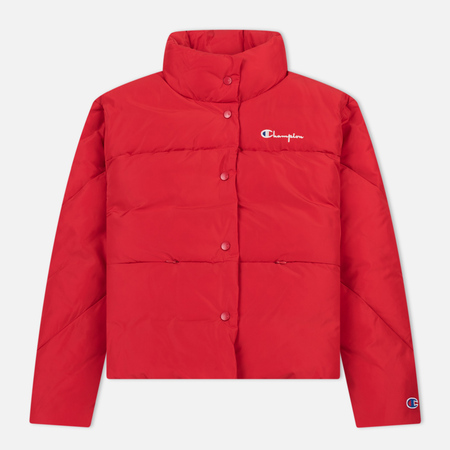 Женский пуховик Champion Reverse Weave Down Red