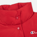 Женский пуховик Champion Reverse Weave Down Red фото- 1