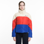 Женский пуховик Champion Reverse Weave Down White/Red/Blue фото- 6