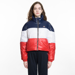 Женский пуховик Levi's Short Puffer Peacoat Colorblock фото- 7