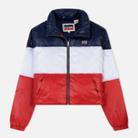 Женский пуховик Levi's Short Puffer Peacoat Colorblock фото- 0