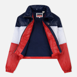 Женский пуховик Levi's Short Puffer Peacoat Colorblock фото- 1