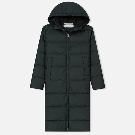 Женский пуховик Norse Projects Borga Down Long Moss Green