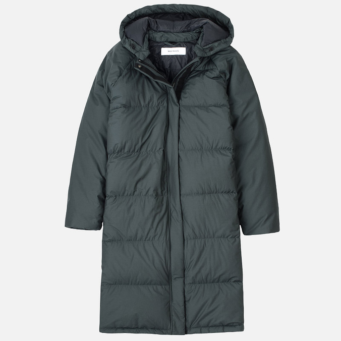 Женский пуховик Norse Projects Dana Down Dark Green