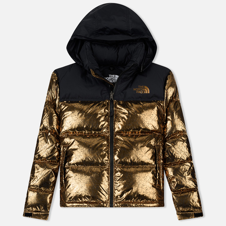 Женский пуховик The North Face 1996 Nuptse Metallic Copper