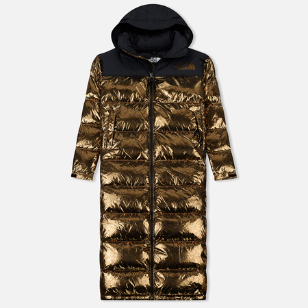Женский пуховик The North Face Nuptse Duster Metallic Copper