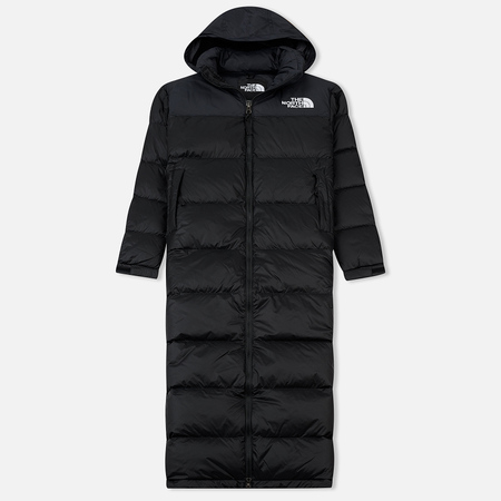 Женский пуховик The North Face Nuptse Duster TNF Black