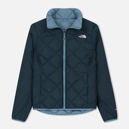 Женский пуховик The North Face Peak Frontier Zip-In Reversible Down Provincial Blue