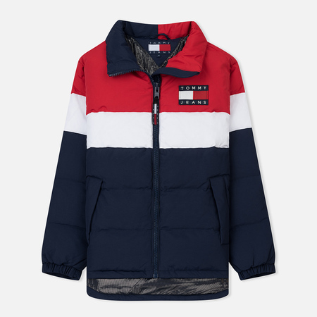 Женский пуховик Tommy Jeans 90's Shell Puffer Peacoat/Multi