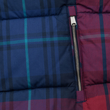 Женский пуховик Tommy Jeans Cotton Check Puffa Blue Print/Multi Check фото- 6