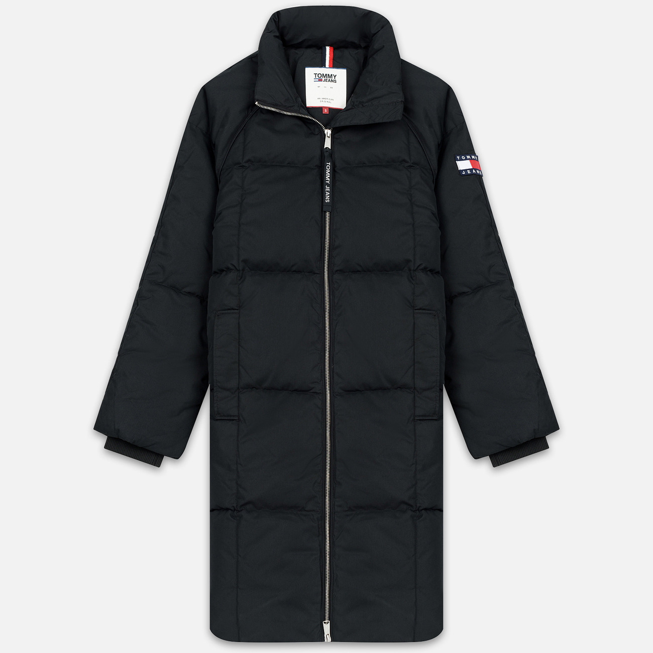 Женский пуховик Tommy Jeans Long Down Puffa Coat Black
