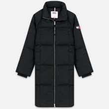 Женский пуховик Tommy Jeans Long Down Puffa Coat Black фото- 0