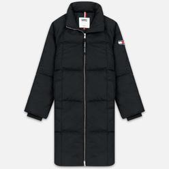Женский пуховик Tommy Jeans Long Down Puffa Coat Black