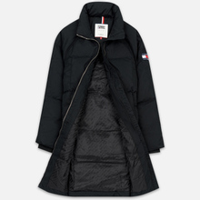 Женский пуховик Tommy Jeans Long Down Puffa Coat Black фото- 1