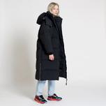 Женский пуховик Tommy Jeans Oversized Puffa Coat Black фото- 8