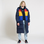 Женский пуховик Tommy Jeans Oversized Puffa Coat Black Iris/Multi фото- 2