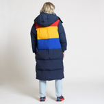Женский пуховик Tommy Jeans Oversized Puffa Coat Black Iris/Multi фото- 4