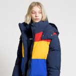Женский пуховик Tommy Jeans Oversized Puffa Coat Black Iris/Multi фото- 3