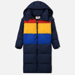 Женский пуховик Tommy Jeans Oversized Puffa Coat Black Iris/Multi фото- 0