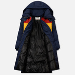 Женский пуховик Tommy Jeans Oversized Puffa Coat Black Iris/Multi фото- 1