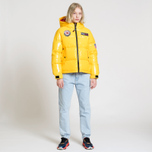 Женский пуховик Tommy Jeans Puffer Expedition 6.0 Lemon Chrome фото- 8
