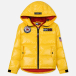Женский пуховик Tommy Jeans Puffer Expedition 6.0 Lemon Chrome фото- 0