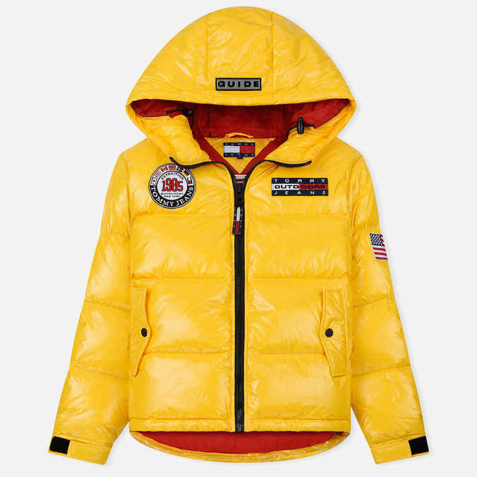 Женский пуховик Tommy Jeans Puffer Expedition 6.0 Lemon Chrome