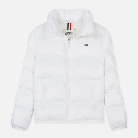 Женский пуховик Tommy Jeans Tommy Classic Puffa Bright White