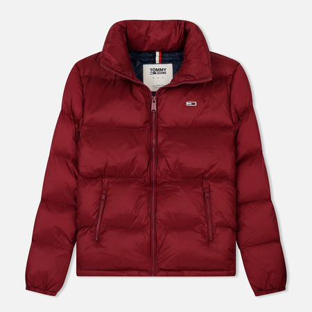 Женский пуховик Tommy Jeans Tommy Classic Puffa Rumba Red