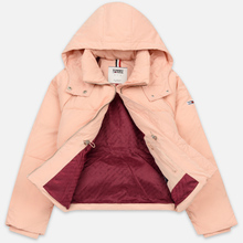 Женский пуховик Tommy Jeans Tommy Detail Puffa Hooded Pink Sand фото- 4