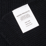 Женский шарф Norse Projects Louisa Stitch Black фото- 3
