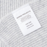 Женский шарф Norse Projects Louisa Stitch Light Grey Melange фото- 3