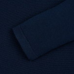 Женский свитер Aquascutum May Club Check Trim Crew Neck Navy фото- 2