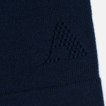 Женский свитер Aquascutum May Club Check Trim Crew Neck Navy фото- 3