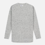 Женский свитер Barbour Heritage Cloudy Crew Neck Grey Marl фото- 0