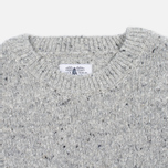 Barbour Women's Sweater Heritage Cloudy Crew Neck Grey Marl photo- 1