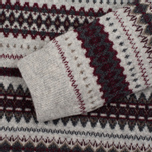 Женский свитер Barbour Heritage Felted Fairisle Crew Grey Marl фото- 2