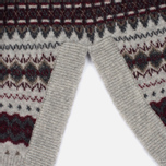 Женский свитер Barbour Heritage Felted Fairisle Crew Grey Marl фото- 3