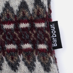 Женский свитер Barbour Heritage Felted Fairisle Crew Grey Marl фото- 4